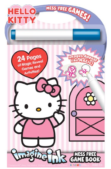 Bendon Publishing Hello Kitty Mess Free Game Book