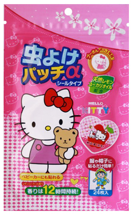 Hello Kitty Summer Anti-Mosquito Patch - 24pcs [Made in Korea]