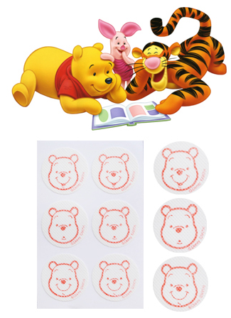 Winnie The Pooh Summer Anti-Mosquito Patch - 24 pcs [Made in Korea]