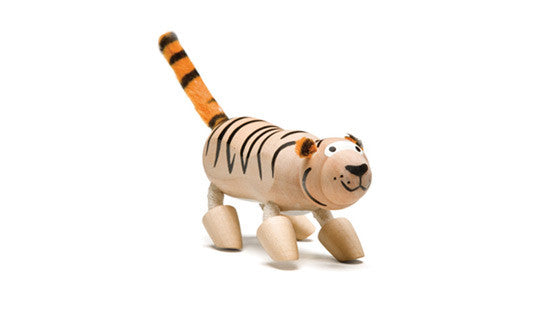Anamalz Wooden Tiger