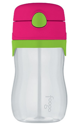 Thermos Foogo Phases Leak Proof Straw Bottle - Watermelon/Teal [NEW]