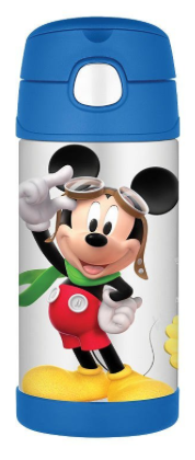Thermos Stainless Steel Funtainer Bottle Mickey Mouse