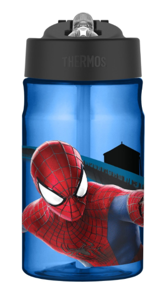 Thermos Tritan 12-Ounce Hydration Bottle - Spider Man [NEW]