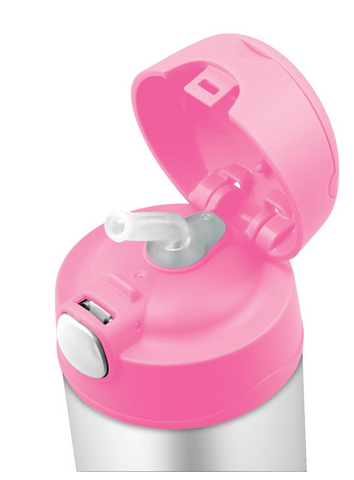 Thermos Stainless Steel Funtainer bottle - Hello Kitty Pink [NEW]