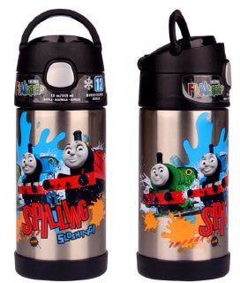 Thermos Stainless Steel Funtainer bottle - Thomas Limited Edition NEW