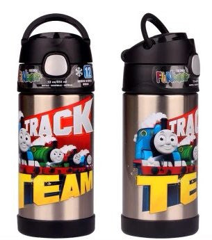 Thermos Stainless Steel Funtainer bottle - Thomas Team Limited Edition NEW