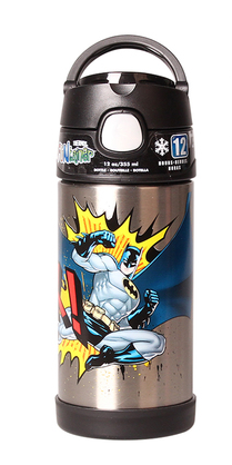 Thermos Stainless Steel Funtainer bottle - Batman [New Limited]