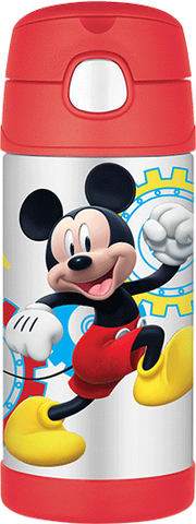 Thermos Stainless Steel Funtainer Bottle Mickey Mouse [NEW]