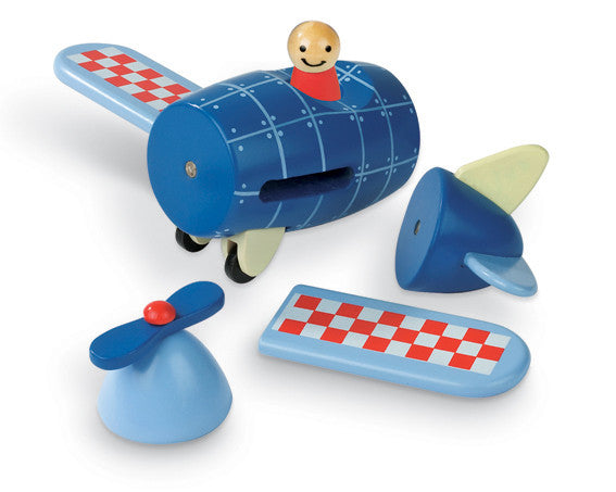 Janod Magnectic Kit Plane