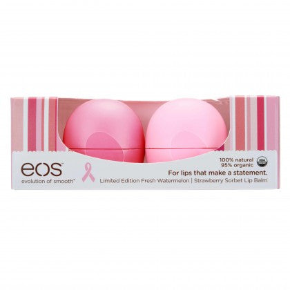 Smooth Sphere Lip Balm Breast Cancer Awareness 2-Pack
