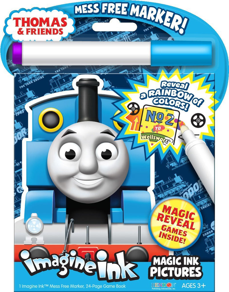 Bendon Publishing Thomas & Friends Mess Free Book