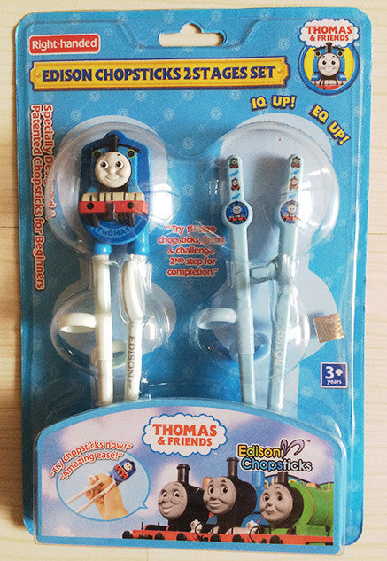 Edison Thomas the Train 2 Stages Duo Chopsticks Set  - Korea