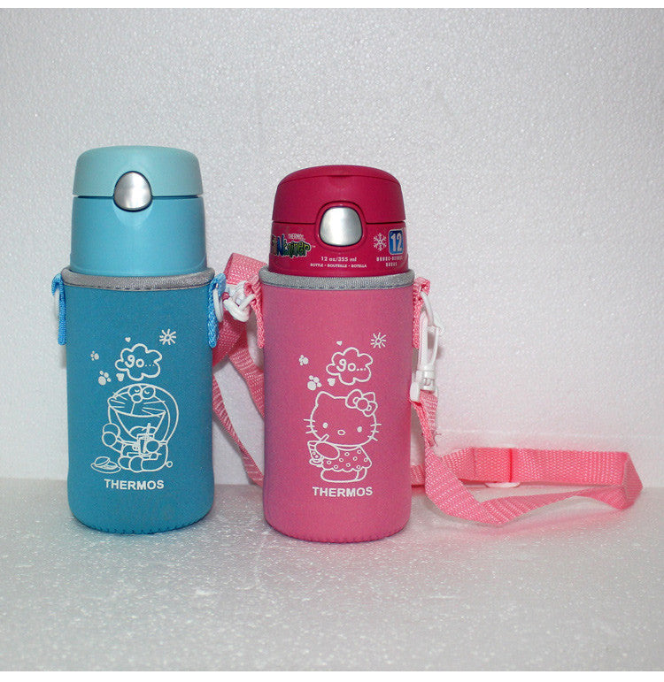 Thermos Funtainer Foogo Bottles Cover With Sling [NEW]