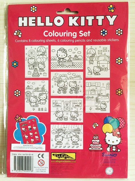 Hello Kitty Colouring Set - Great for Birthday Loots