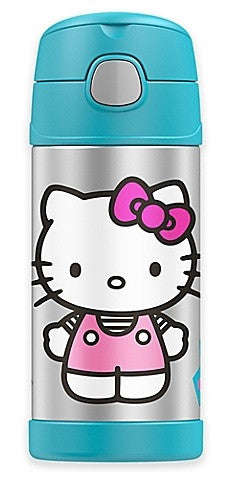 Thermos Stainless Steel Funtainer bottle - Hello Kitty NEW
