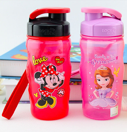 Lock n Lock Kids BPA Free Bottle - Minnie Mouse