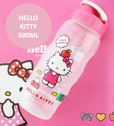 Lock n Lock Kids BPA Free Bottle - Hello Kitty (Pink)