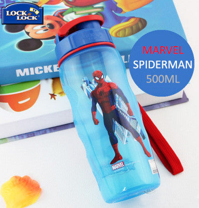 Lock n Lock Kids BPA Free Bottle - Spiderman
