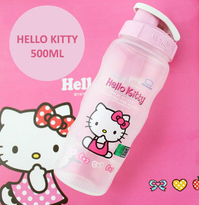 Lock n Lock Kids BPA Free Bottle - Hello Kitty (Light Pink)