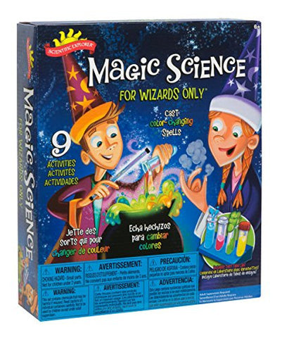 Scientific Explorer Magic Science Kit for Wizards Only - USA