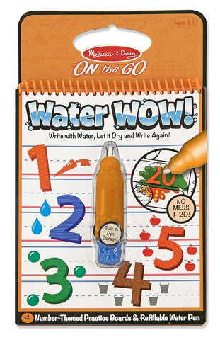 Melissa & Doug On The Go Water Wow! 123 Book