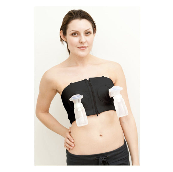 Simple Wishes Hands Free Breastpump Bra (Black)