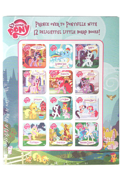 My Little Pony: 12-Piece Board Book Set [Hardcover]