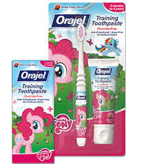 Orajel Toddler My Little Pony Training Toothpaste with Toothbrush 1.0oz