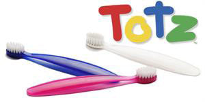 RADIUS® Totz Toothbrush, 18+ Months, Extra Soft [more colours..]