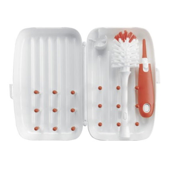 OXO Tot On-The-Go Drying Rack and Bottle Brush [more colours...]