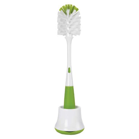 OXO Tot Bottle Brush with Nipple Cleaner and Stand [more colours...]