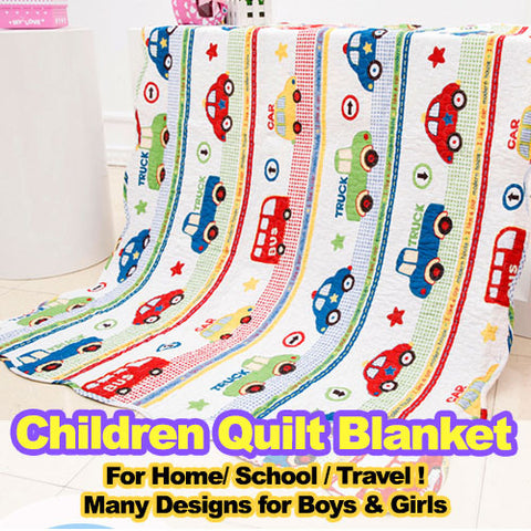 Kids Quilt Blanket - Various Design