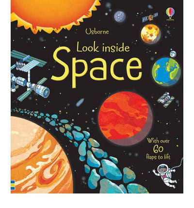 Usborne Look inside Board Books - Space [Hardcover]