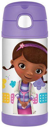 Thermos Stainless Steel Funtainer bottle - Doc McStuffins [New Design]