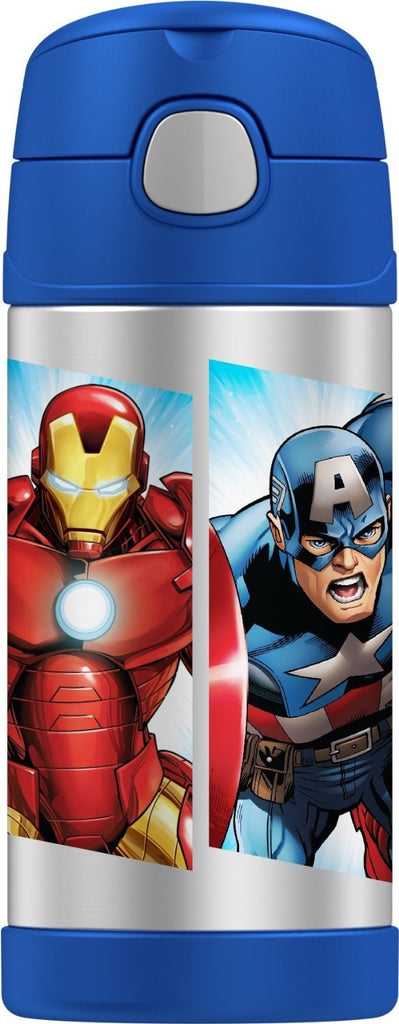 Thermos Stainless Steel Funtainer Bottle Avengers [NEW]