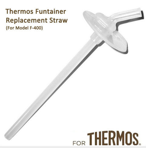 Thermos FUNtainer Stainless Steel Bottle Replacement Straw (For Model F-400)