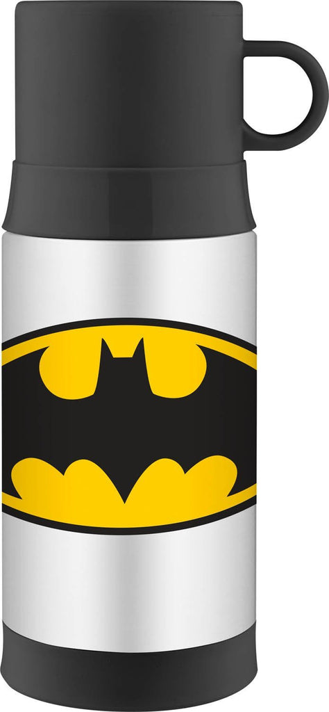 Thermos Funtainer Bottle - 12 Ounce Warm Beverage Bottle, Batman [NEW]