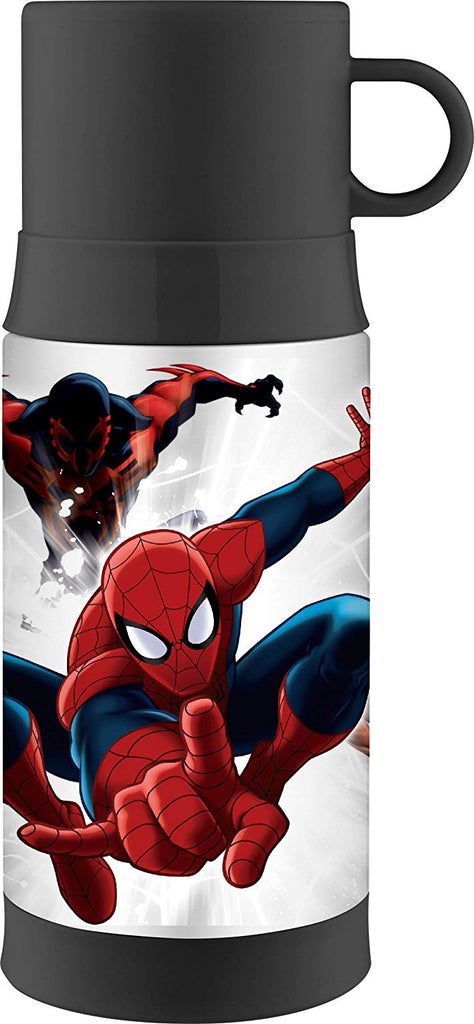 Thermos Funtainer Bottle - 12 Ounce Warm Beverage Bottle, Spider-Man [NEW]