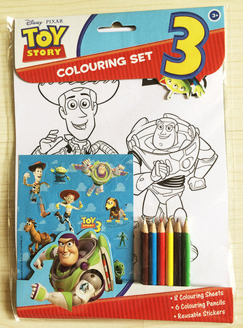 Toy Story Colouring Set - Great for Birthday Loots