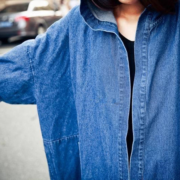 Juku Denim Trench - Blue, , , PINK IN TŌKYŌ  - 9