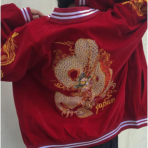 Nihon Dragon Jacket - Red