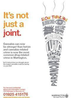 It's not just a joint. Warrington Council poster