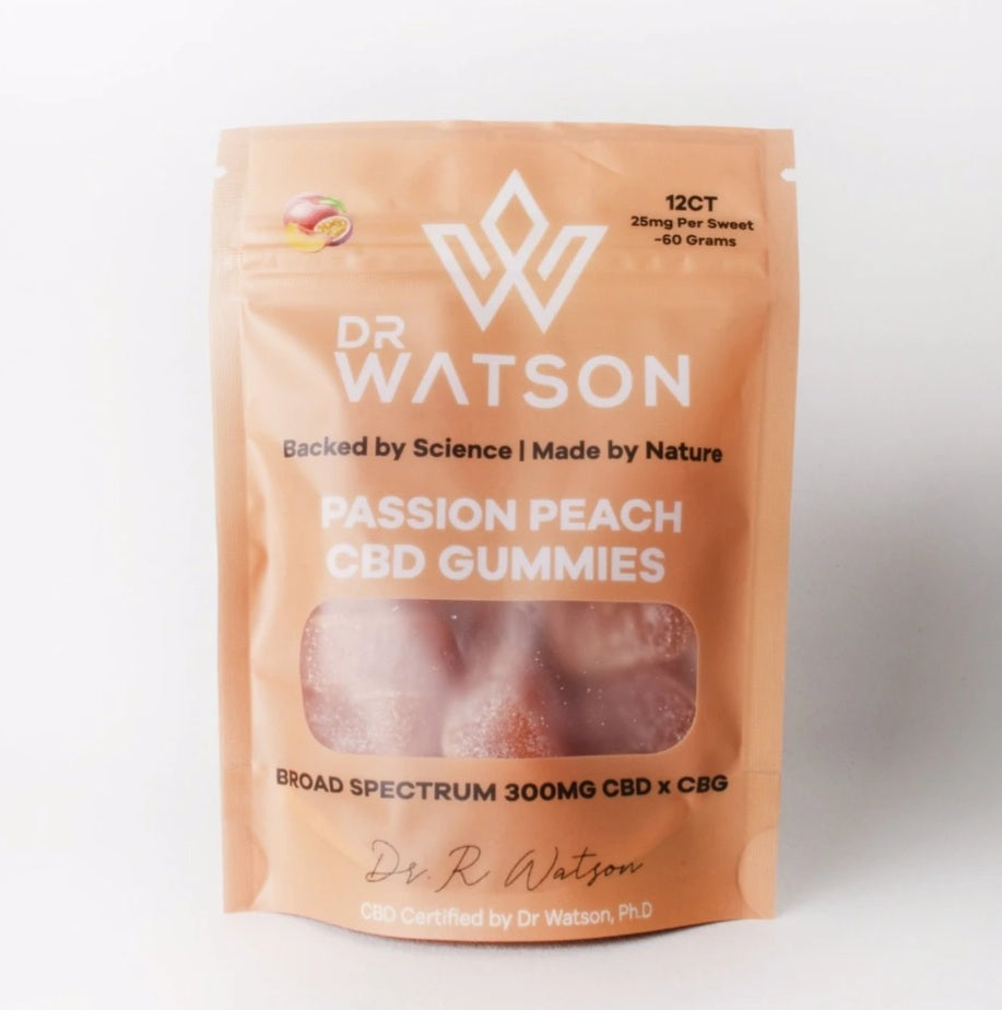 Passion Peach CBD Gummies