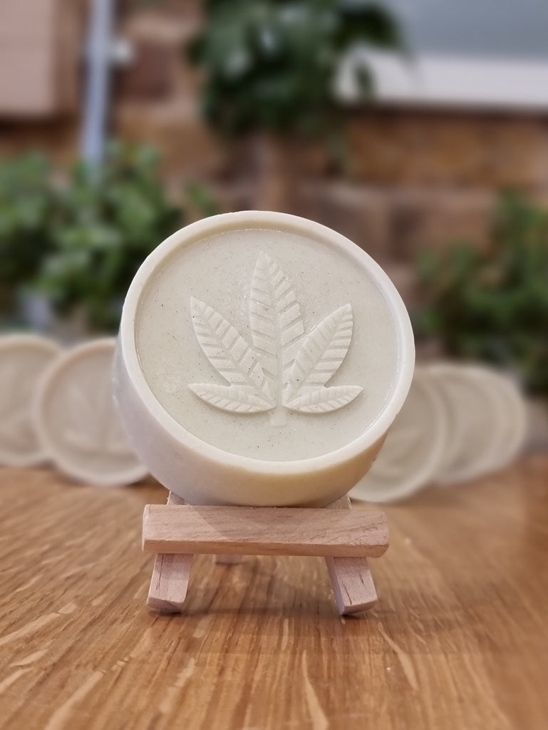 Nettle + Rosemary CBD Soap
