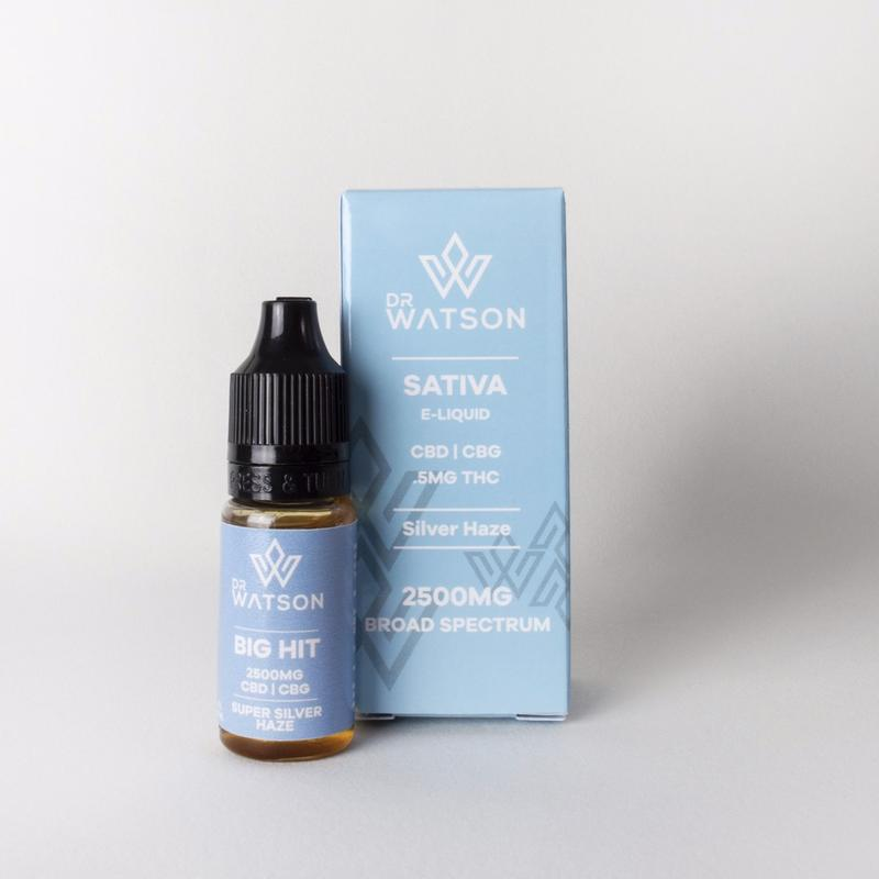 BIG HIT CBD + CBG E-Liquid | 25% | 2500MG