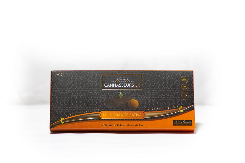 CBD Orange Belgian Chocolate Bar