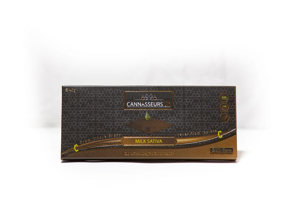 CBD Belgian Milk Chocolate Bar