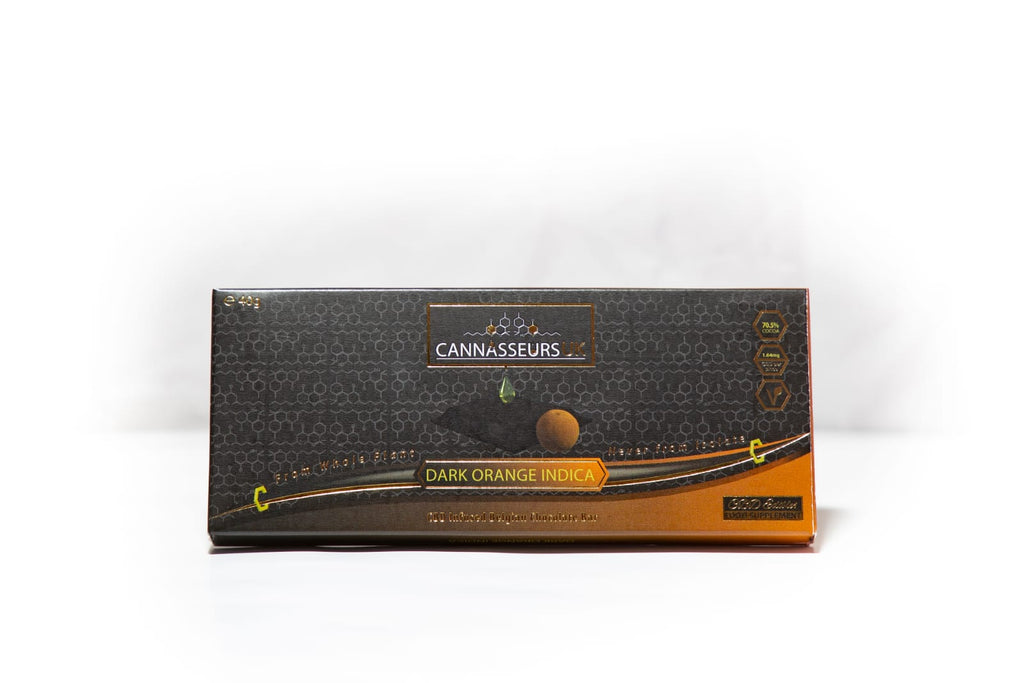 CBD Orange Dark Chocolate Bar