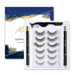 Magic by Vici Eyeliner & Eyelash Kit (6 Pairs)