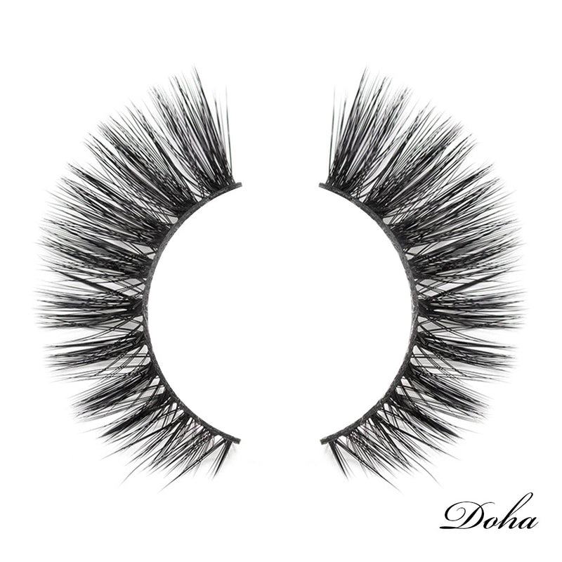 Viciley Lashes (2 Pairs) – Dramatic/Doha